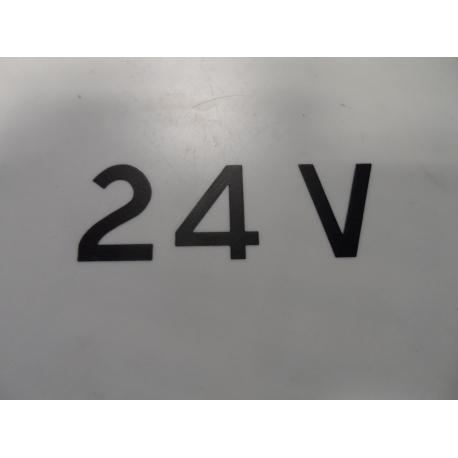 sticker 24 v