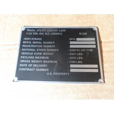 ID M1038