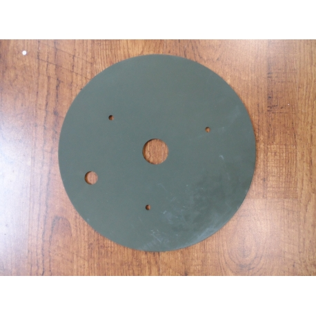 Plate, mounitng