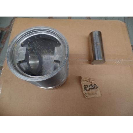 Piston, internal combustion engine