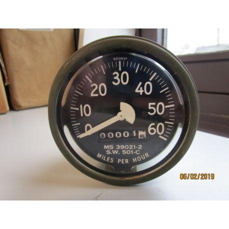 Speedometer miles