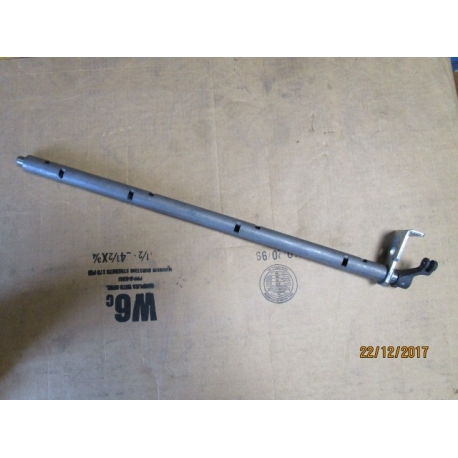 Tube and lever assembly